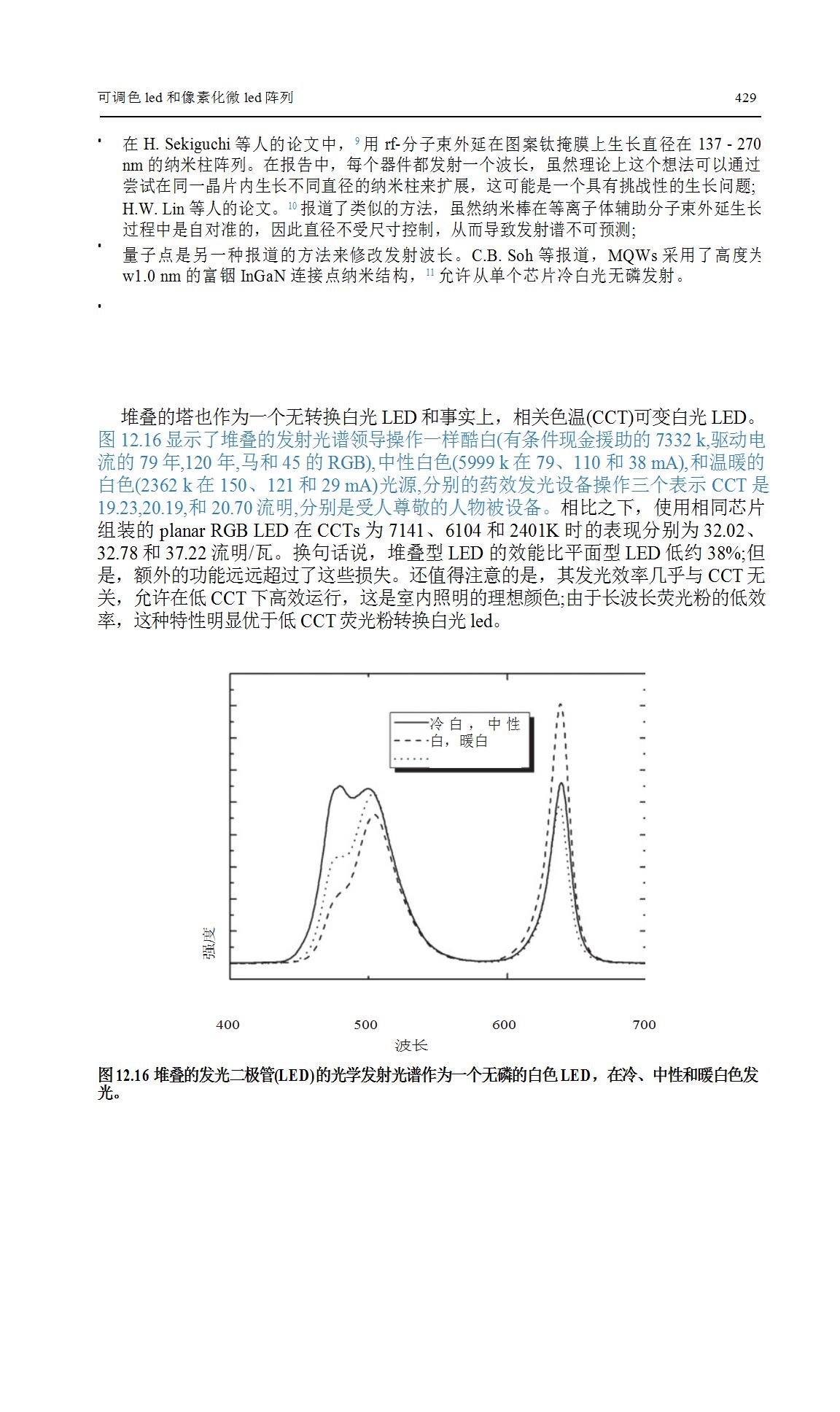 LED调色和像素化MicroLED阵列研究  第15张