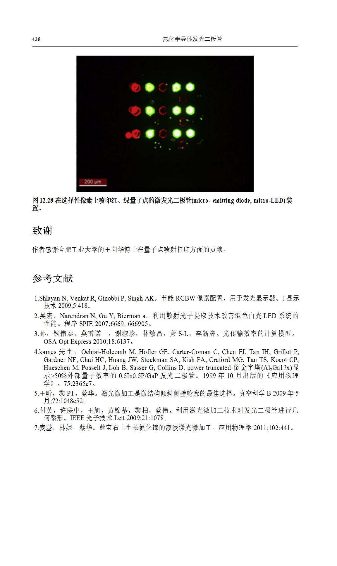 LED调色和像素化MicroLED阵列研究  第24张