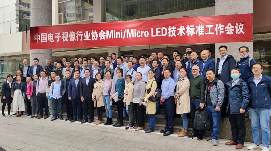 中国电子视像行业协会在深圳召开Mini/Micro LED技术标准工作会议