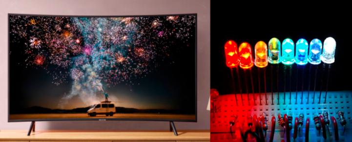 MiniLED和MicroLED以及LCD,LED,OLED的区别