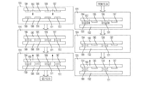 专利赏析-MicroLED-利用可选的表面附着力转印元件的转印基材  第1张