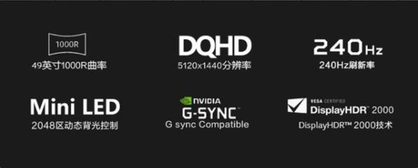 Acer宏碁49英寸MiniLED显示器曝光:5120×1440分辨率,HDR2000  第3张