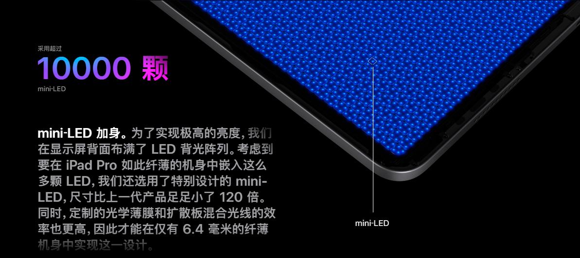 MiniLED ipad来了!苹果发布会看点汇总  第4张