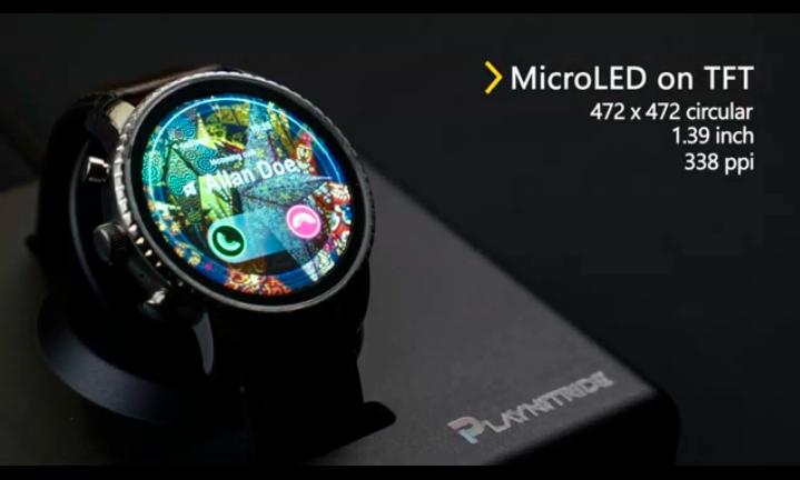 錼创,天马展出最新MicroLED产品  第4张