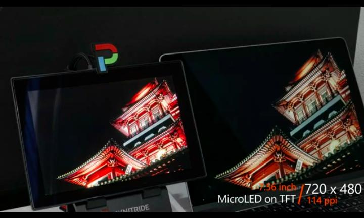錼创,天马展出最新MicroLED产品  第6张