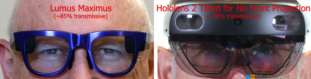 Lumus Maximus阵列光波导与HoloLens2对比  第16张