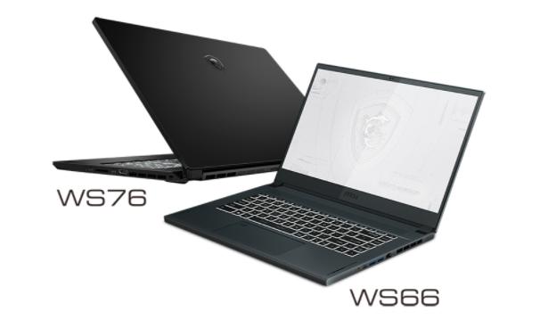 微星推出WS76工作站,配备4K MiniLED背光显示屏
