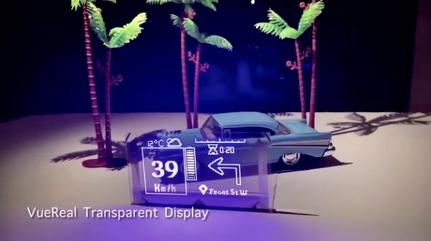 加拿大VueReal开发新型透明MicroLED显示屏  第1张