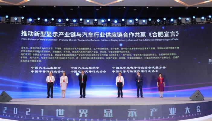 2021世界显示产业大会在安徽合肥开幕  第3张