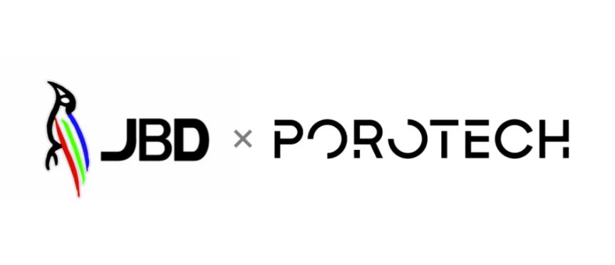 MicroLED显示器厂商JBD与剑桥Porotech达成合作